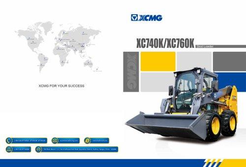 XCMG Skid Loader XC740K