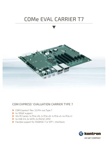 COMe Eval Carrier T7