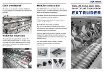 XINDA PSHJ-20 Lab Extruder