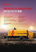 HBT4010C-5I TRAILER PUMP
