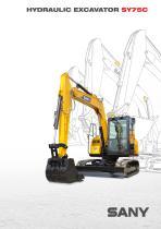 SANY SY75C 7.5ton Small Excavator