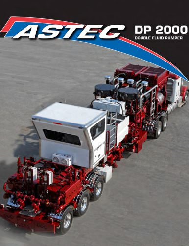 Astec DP 2000 Double Fluid Pumper