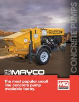 Mayco Concrete Pumps Brochure