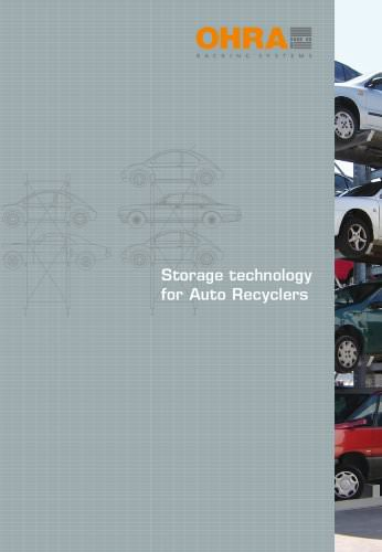 Storage technology for Auto Recyclers