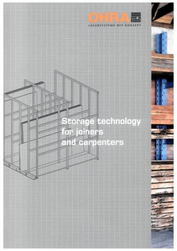 Storage technology for joiners and carpenters