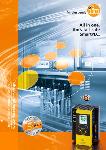 All in one. ifm's fail-safe SmartPLC.