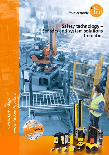 Safety technology - Sensors and system solutions from ifm.