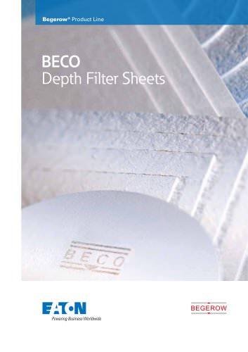 Eaton BECO Depth Filter Sheets