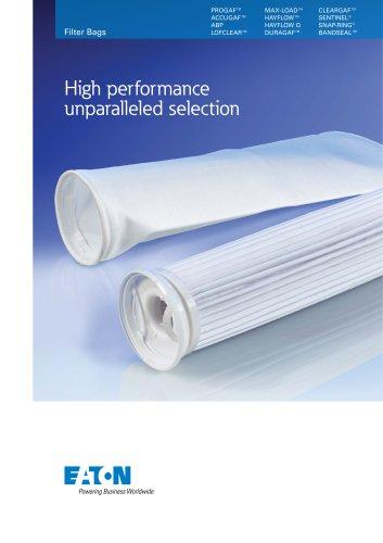 Eaton Filter Bag Ranges