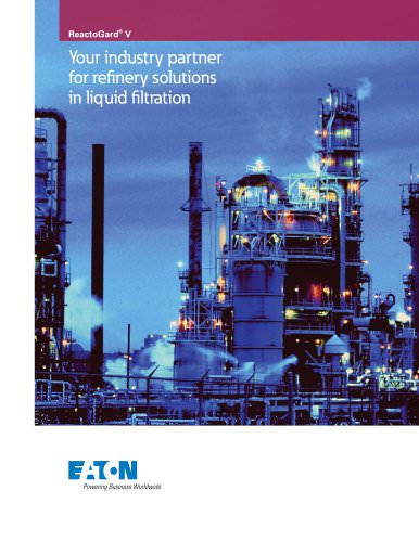 REACTOGARD V Catalyst Protection Filters Brochure