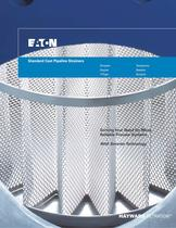 Standard Cast Pipeline Strainers