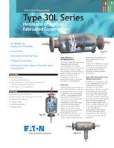 Type 30L Series Gas/Liquid Separators