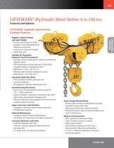 LIFTCHAIN® Hydraulic Hoist