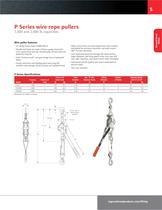 P Series Ratchet Puller