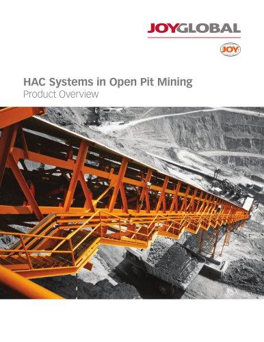 Joy HAC System in Open Pit Mining