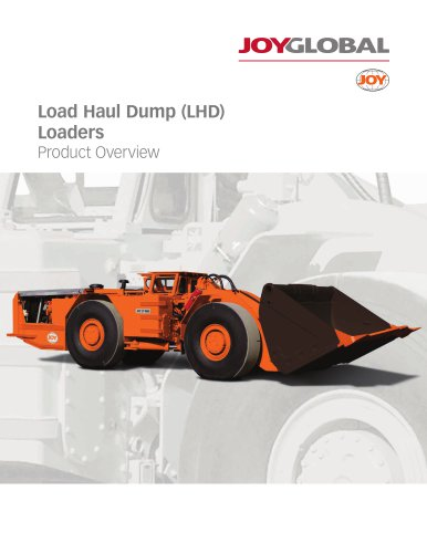 Load Haul Dump (LHD) Loaders