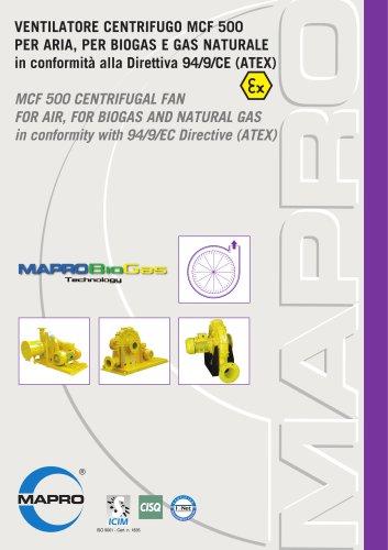 Centrifugal Fan MCF 500