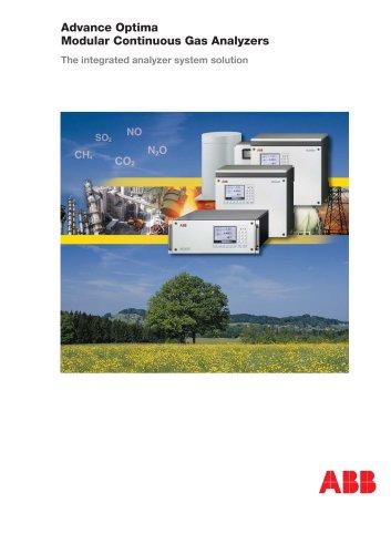 Advance Optima - Modular Continuous Gas Analyzers