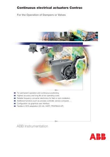 Continuous electrical actuators Contrac