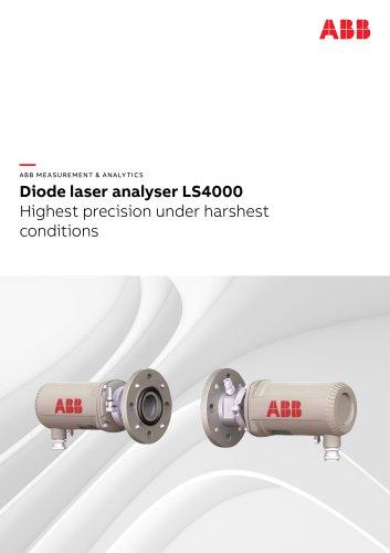 Diode laser analyser LS4000