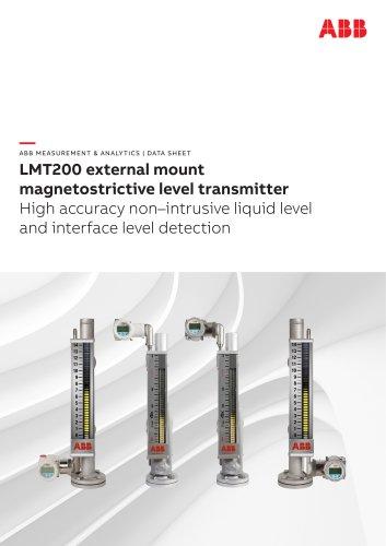 LMT200 external mount magnetostrictive level transmitter