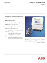 Residual Chlorine Monitor AW400