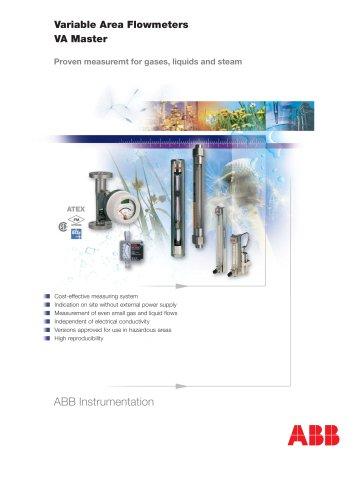 Variable Area Flowmeters - VA Master