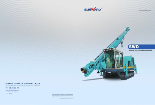 SUNWARD Down-the-hole Drilling Rig