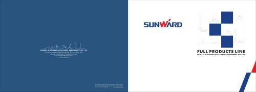 SUNWARD Product Catalogues