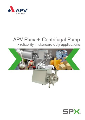 APV PUMA+ Centrifugal Pump