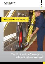 """MagneticGrabber® - The """"click and seal"""" nozzle for effective exhaust removal"""