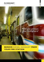 Remove diesel exhaust from your fire station
