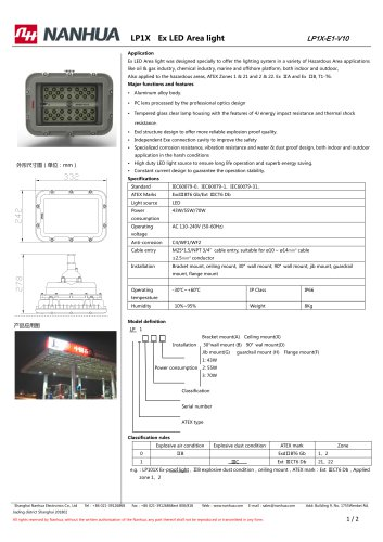 LP1X Ex LED Area light