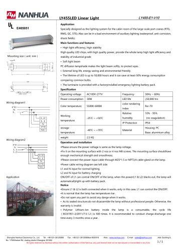 LY455LED Linear Light