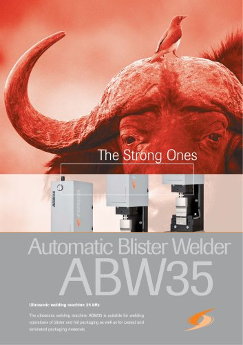 Automatic Blister Welder ABW35