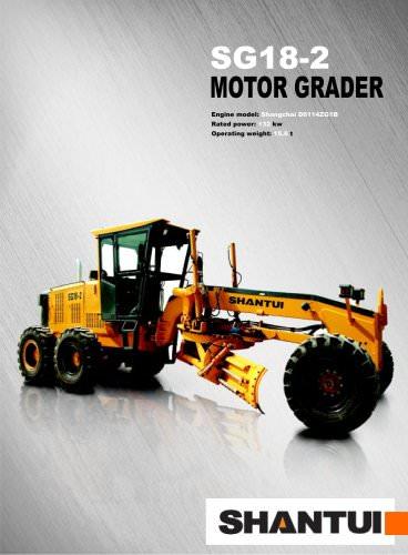 Motor grader series SG18-2