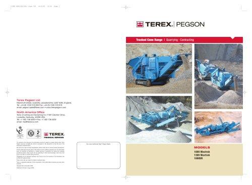 Powerscreen Pegson Cone Crusher Range Brochure