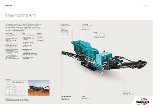 Powerscreen Trakpactor 500 Crusher