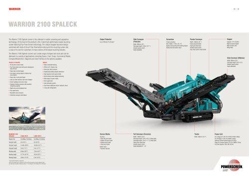 Warrior 2100 Spaleck