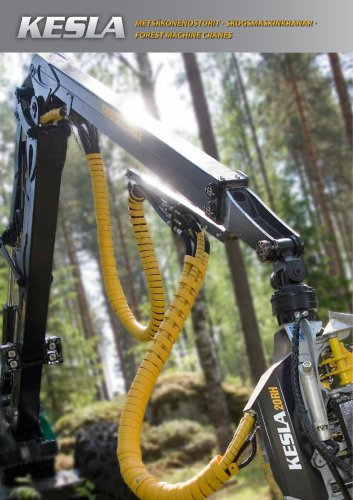 FOREST MACHINE CRANES