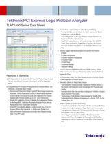 Tektronix PCI Express Logic Protocol Analyzer TLA7SA00 Series