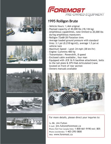 1995 ROLLIGON BRUTE