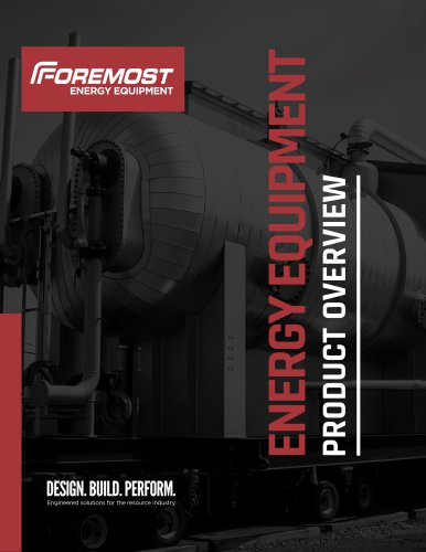ENERGY EQUIPMENT PRODUCT OVERVIEW