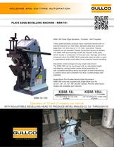 Metal Plate Bevelling Machine - KBM-18