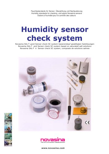 Brochure - Humidity standards for calibration