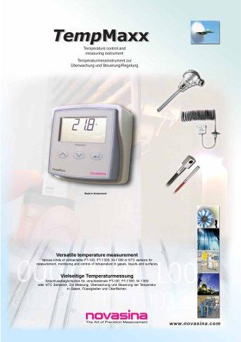 Brochure - TempMaxx HVAC transmitter