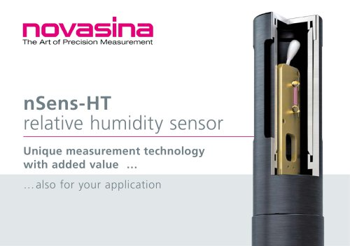 nSens-HT humidity and temperature probe