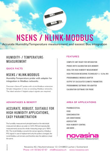 NSENS / NLINK-MODBUS
