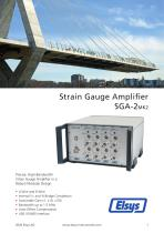 SGA-2 Strain Gauge Amplifier MK2