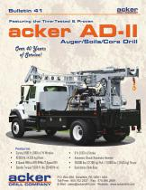 acker AD-II Auger/Soils/Core Dril